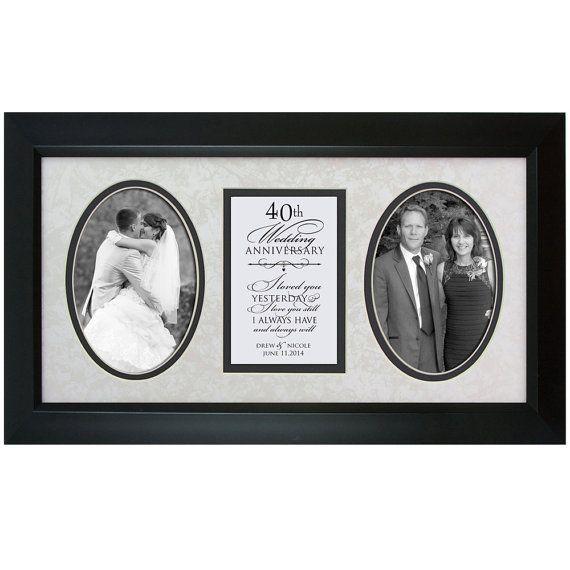 40th Anniversary Gift Wedding By DaySpringMilestones On Etsy