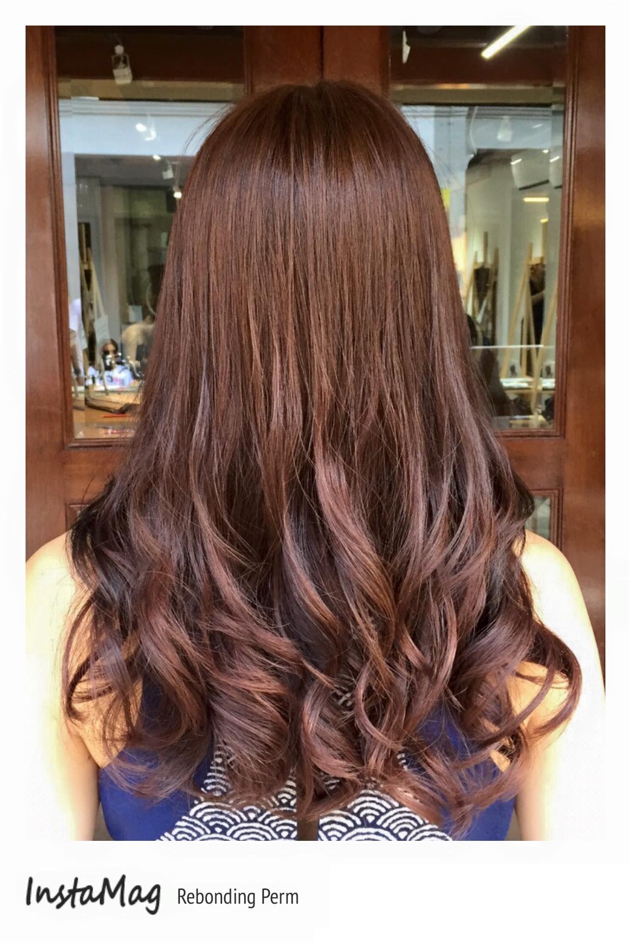 Short Hair Style Rebonded