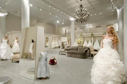 Emotions, Expectations Run High At Bridal Gown Mecca