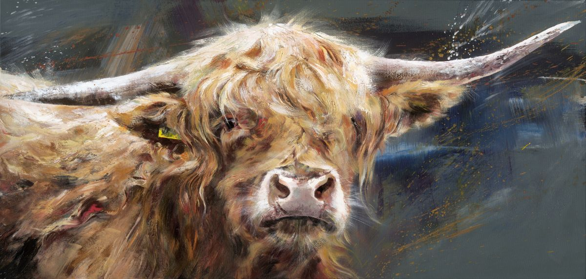 Highlander by Debbie Boon #art #artist #countrylife #countryside ...