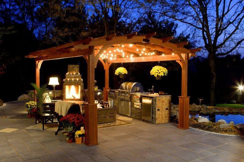 pergola para jardin cocina exterior jpg 800533 grill it pinterest grilling
