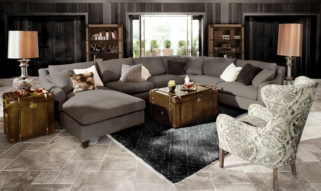 Famous Arhaus Sectional Sofas | Catosfera.net EP16