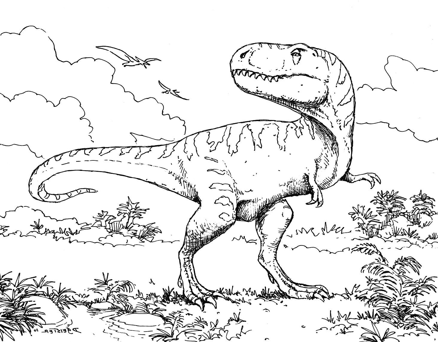 Dinosaurs Coloring Page 17 Dinosaur Coloring Pages Dinosaur