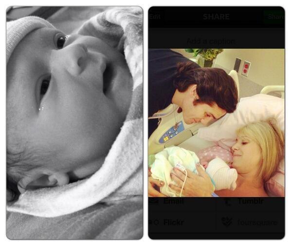 Joe Nichols Welcomes Daughter