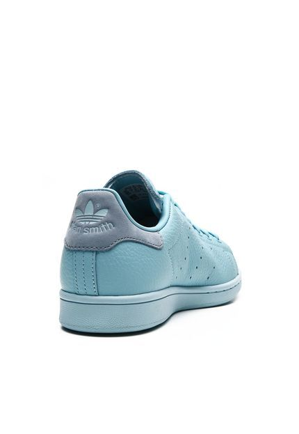 T ê nsi couro adidas originali stan smith j azul marca adidas