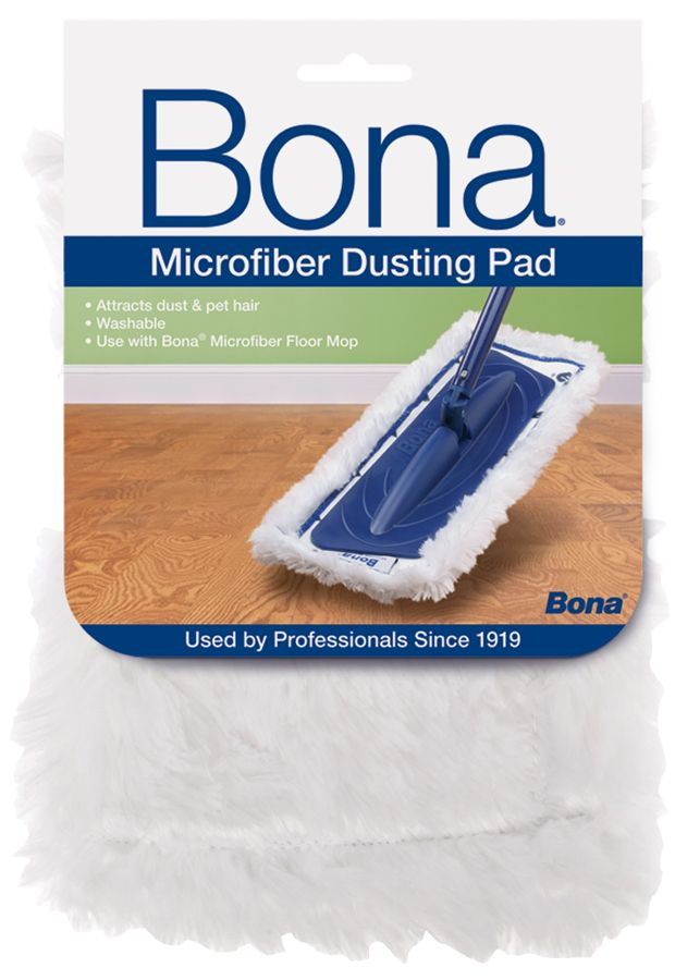 Bona Microfiber Dusting Pad Official Bona Us Site Mybonahome Com Bona Floor Cleaner Microfiber Mop Pads Microfiber