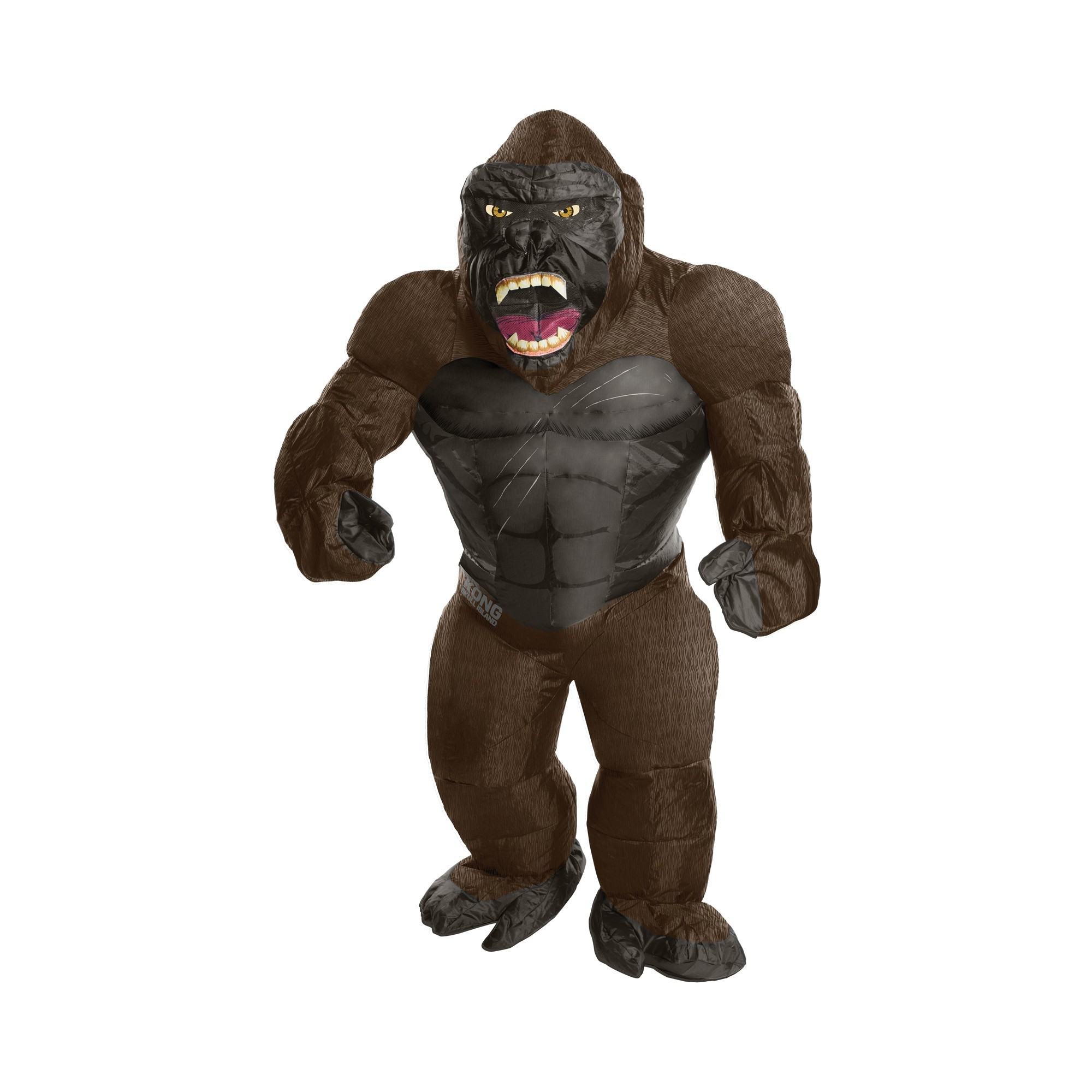 Halloween King Kong inflatable Child Costume, Kids Unisex, Multi-Colored