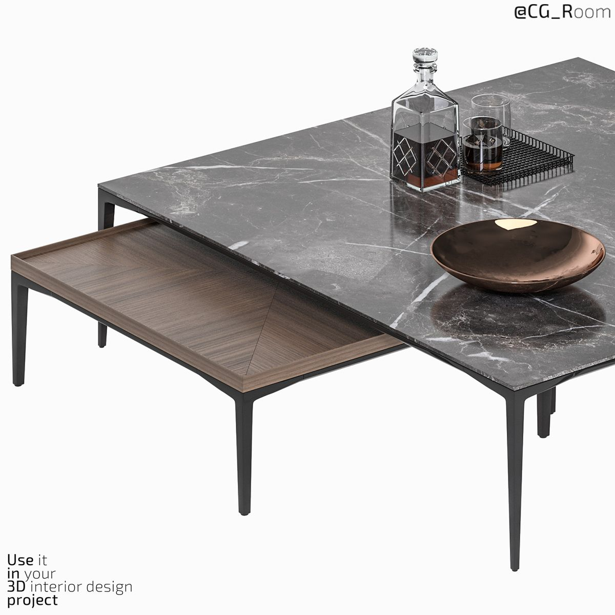Coffee Table Tray Rimadesio Coffee Table Table Decor Living Room Decorating Coffee Tables [ 1200 x 1200 Pixel ]