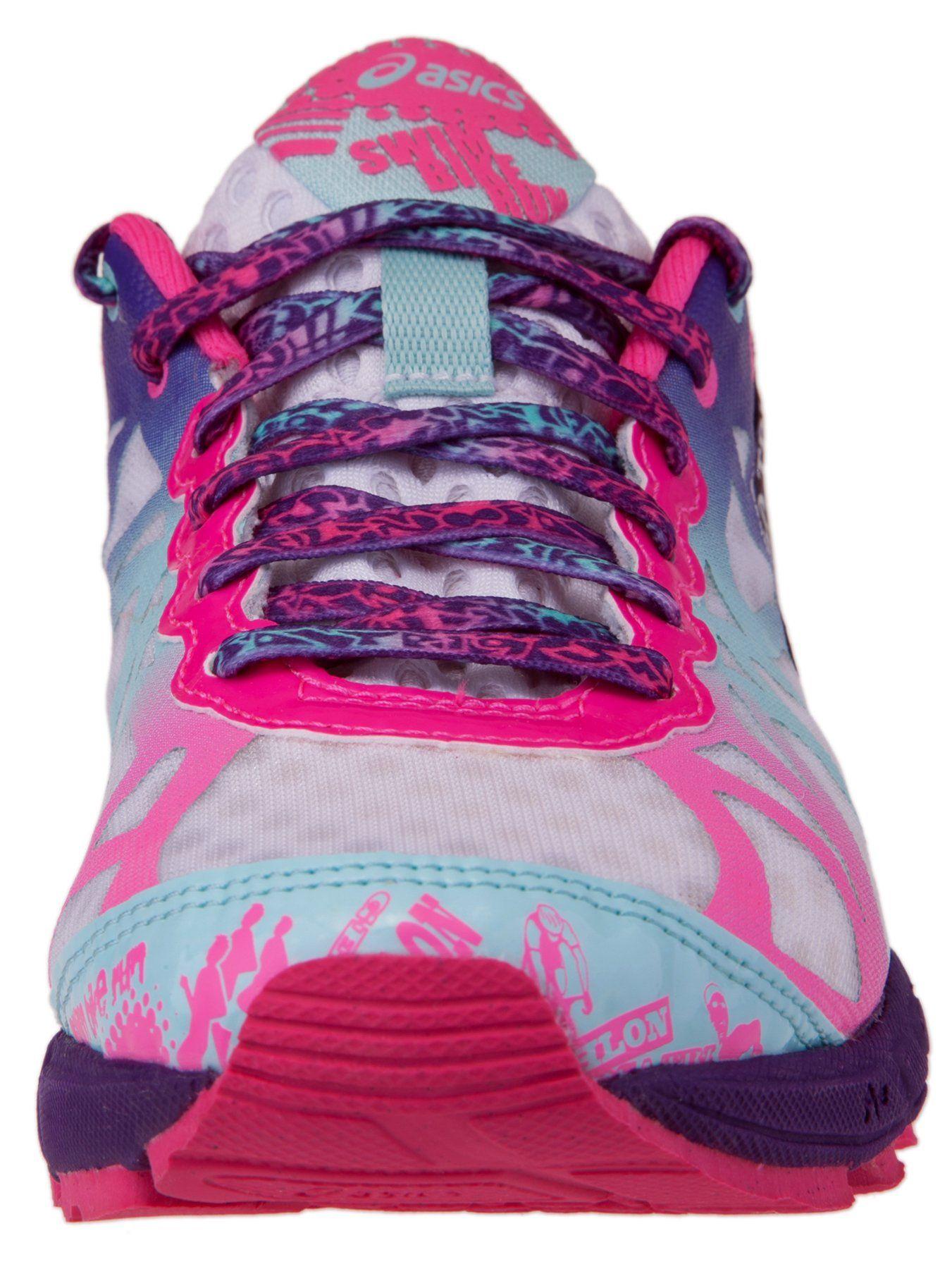 buy online 87094 94d5e ASICS Women s Gel-Noosa Tri 9 Running Shoe,Black Neon Coral Green,8 M US