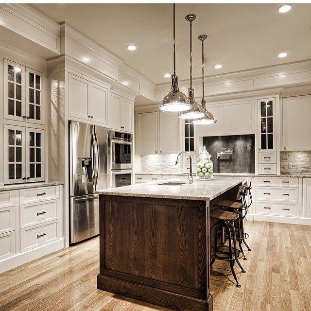 20 Ideas For Grey Kitchens Both: Instagram Post By Interior Design & Home Decor (@inspire