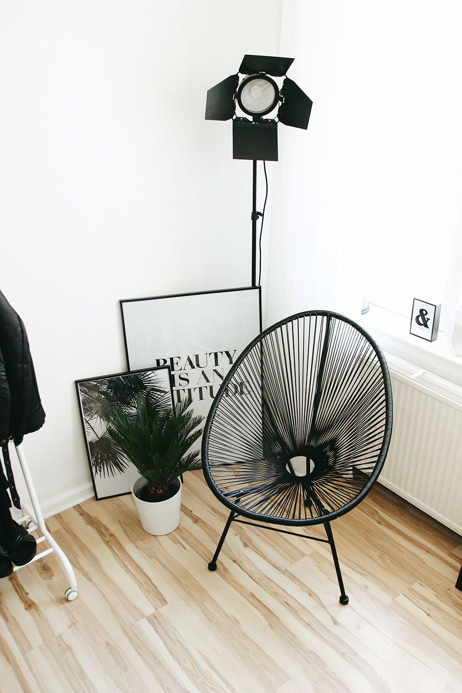 acapulco chair, interior inspiration, cozy corner, reading corner ... - Wie Die Perfekte Leseecke Erstellt