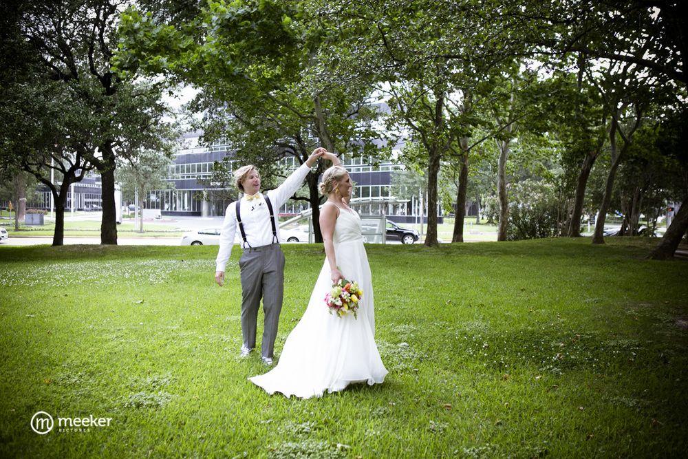A Wedding At The Houston Arboretum