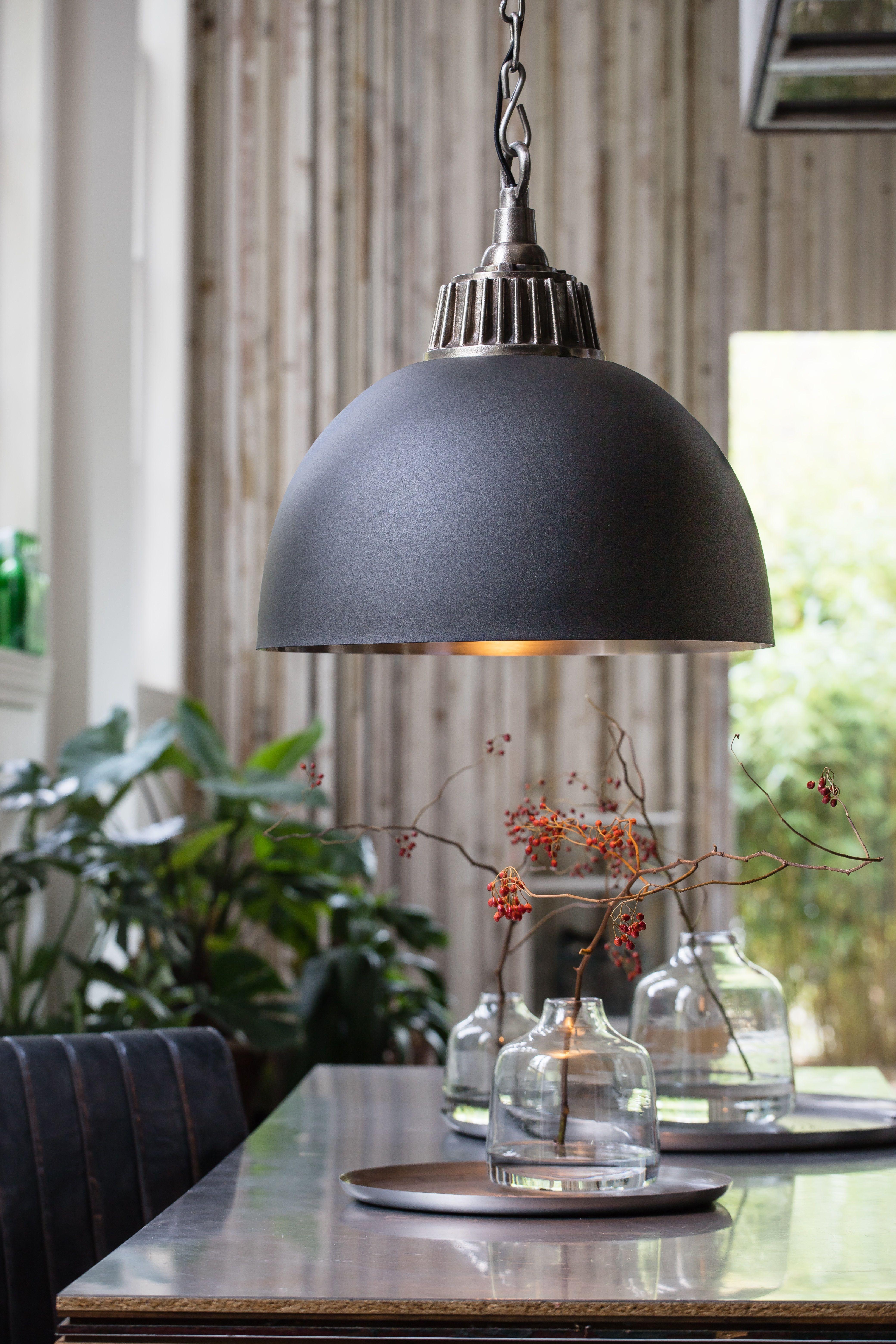 Hanglamp Anisha Antiek Tin Kopen Bestel Bij Dutch Home Label Hanglamp Eettafel Verlichting Industriele Hanglampen