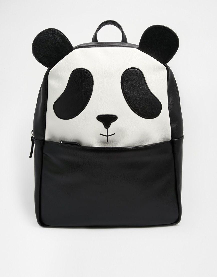 b43c6d131de3 Image 1 of ASOS Panda Backpack Backpack Bags
