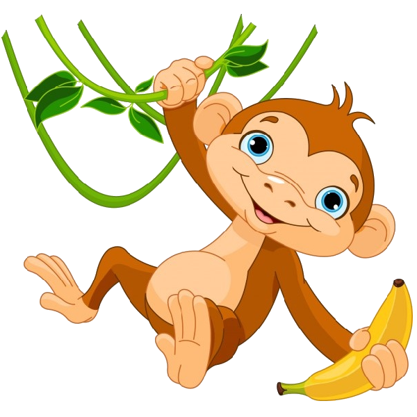 cute funny cartoon baby monkey clip art images all monkey cartoon rh pinterest com clipart hang in there hang in there clipart free