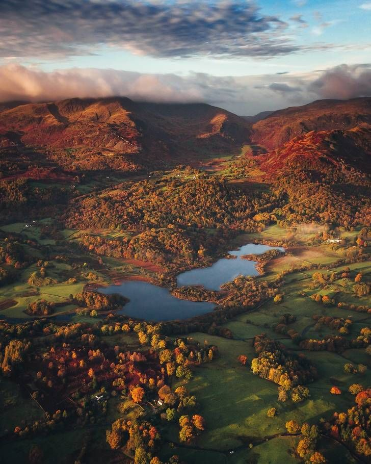 Climbed Up In The Dark This Was My View When The Sun Came Up Loughrigg Lake District Uk Oc 1701x2126 Lake District National Park Lake District England Scenery