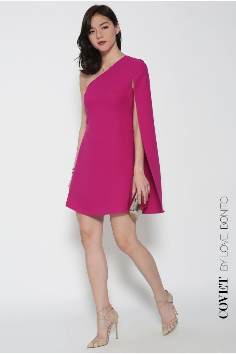 Covet Ulla Toga Cape Dress - Love, Bonito | Empowering Confidence Through Style