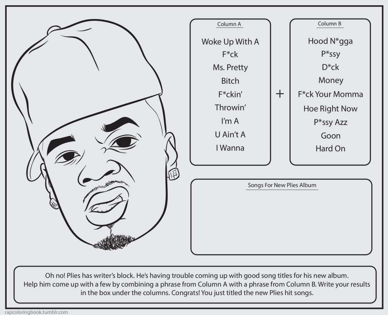 Pin By Shachar Rubin On Printables Coloring Books Rap Sketch Book