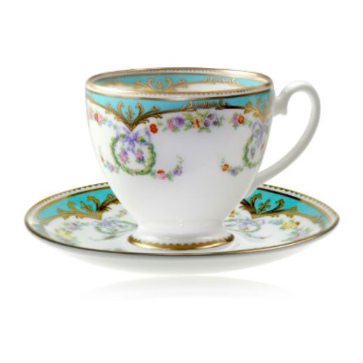 Panbado Bone China 7-Piece Cup Saucer Spoon Set Art Ounce Porcelain Gold Rimmed Tea Coffee Cup with Silver Metal Holder, Small Flor. Sold by Freshware. $ Sweese Porcelain Cappuccino Cups with Saucers - 6 Ounce for Specialty Coffee Drinks, Latte, Cafe Mocha and Tea - .