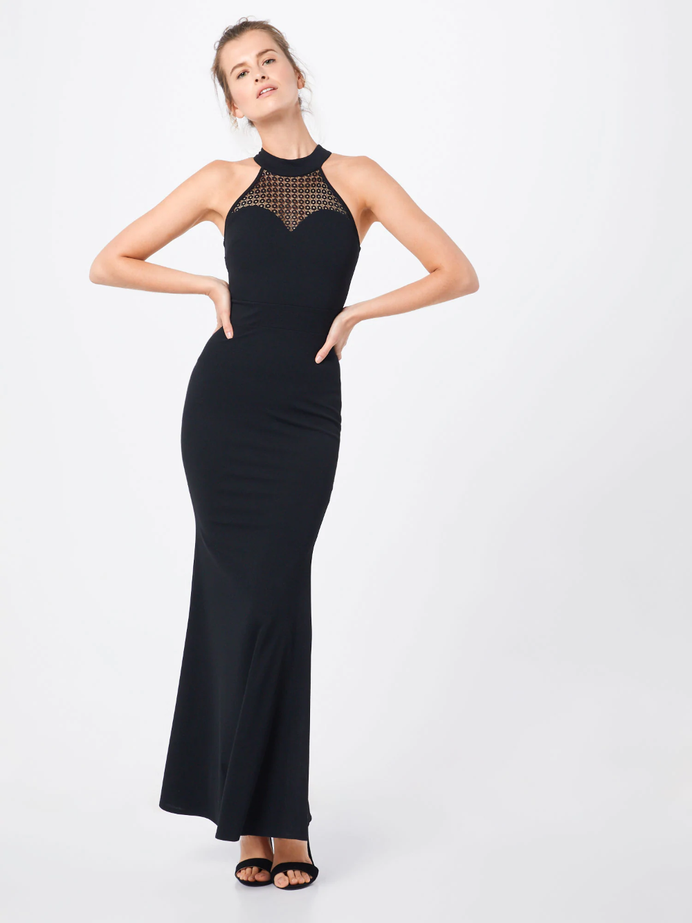 wal g. kleid 'wg 8517' in schwarz | about you in 2020 | wal