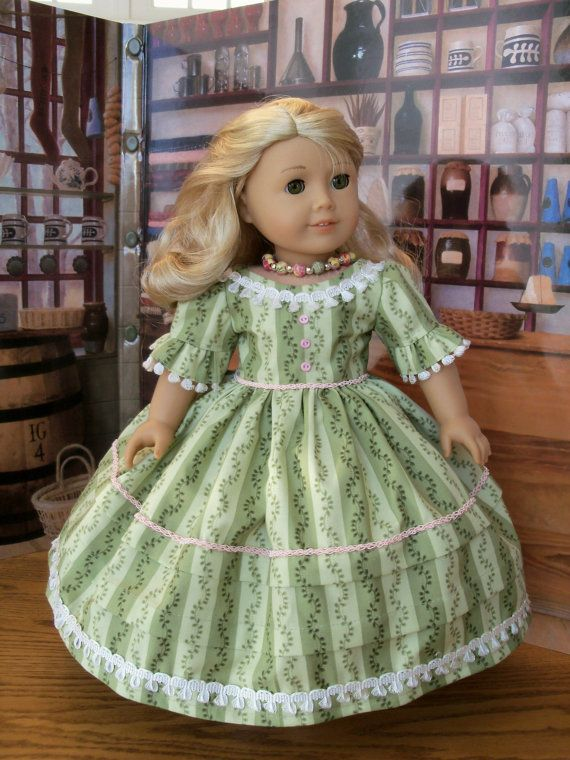 PDF Pattern for American Girl Marie Grace or Cecile- Southern Belles ...