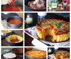 How to DIY Yummy and Easy Rigatoni Pasta Pie | www.FabArtDIY.com