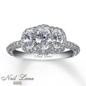 NEIL LANE 3-STONE RING | Three Stone Diamond Rings | Jared