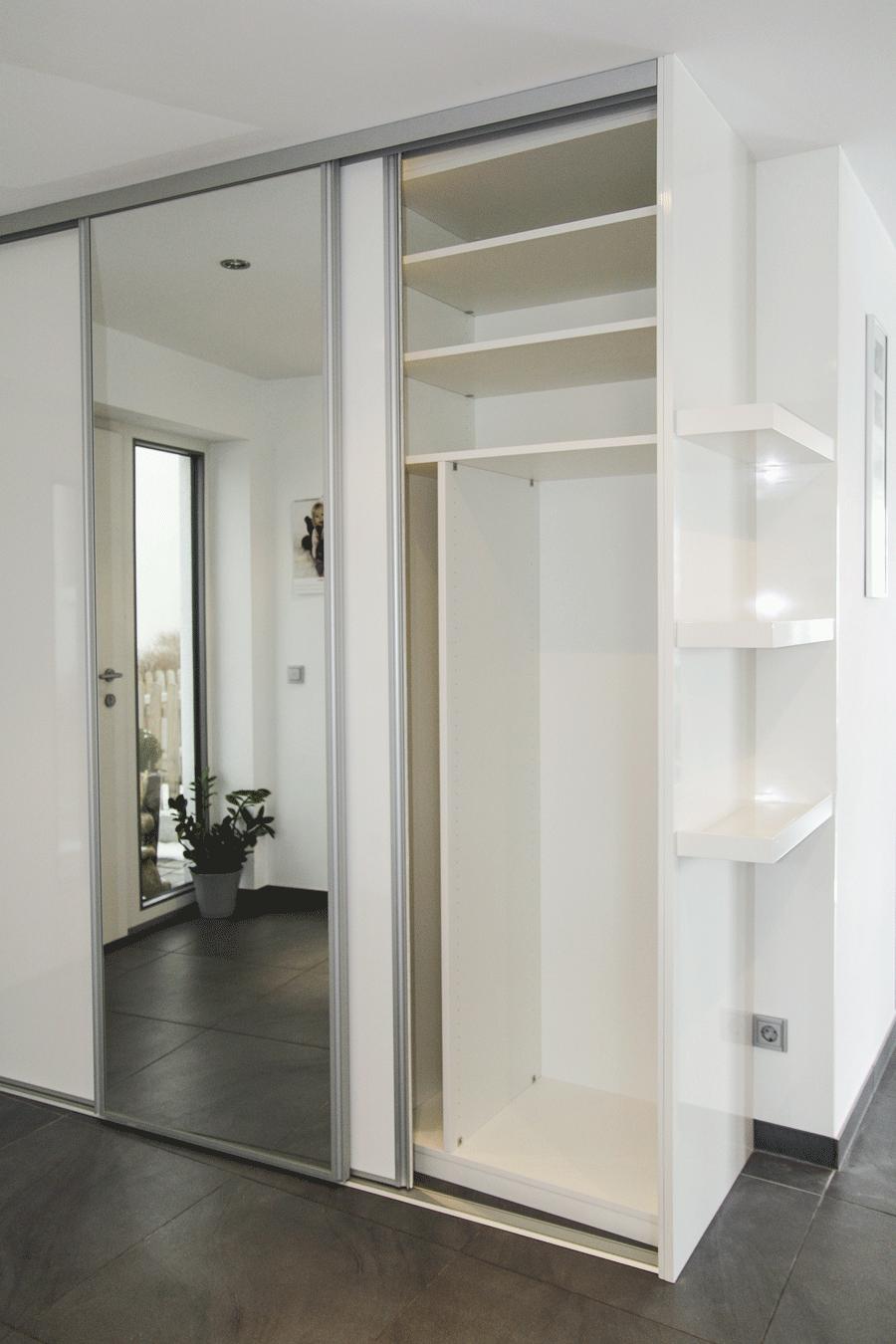 Schön Schmaler Hoher Schuhschrank | Eingangsbereich Garderobe