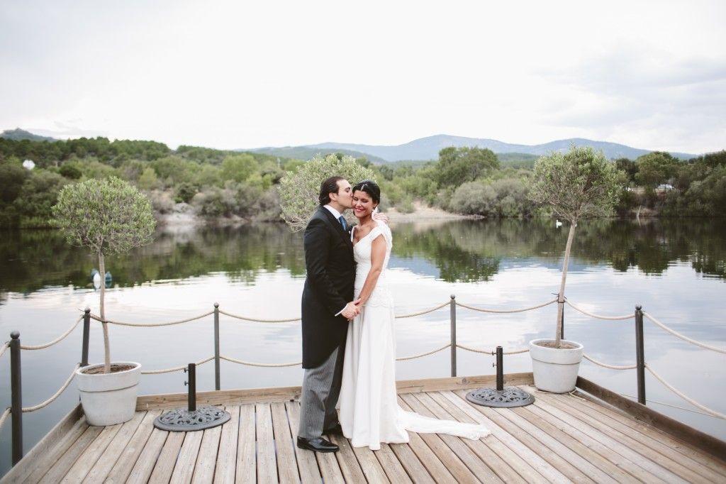 FInca Prados Moros, en la sierra madrileña, donde Sara y Manuel celebraron su boda