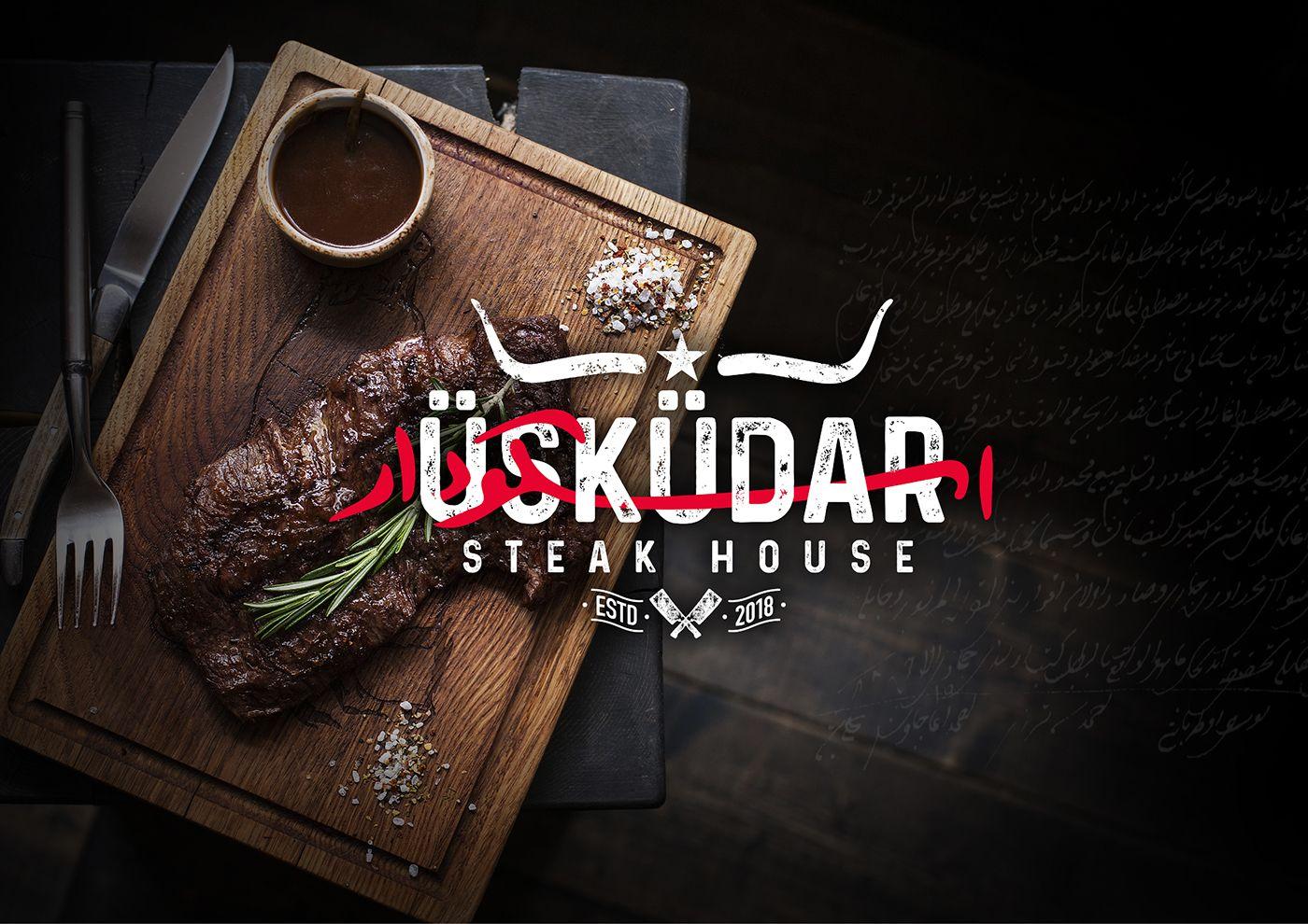 Uskudar Turkish American Steak House On Behance In 2020 American Steak Steakhouse Steak