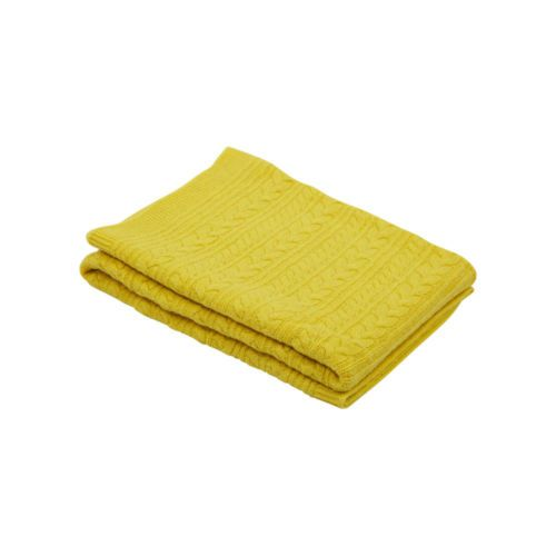 100 Mongolian Cashmere Baby Blanket 100x100 Cm Knitted Yellow 300 Gr Goyo New Cashmere Baby Blanket Cashmere Blanket Baby Blanket
