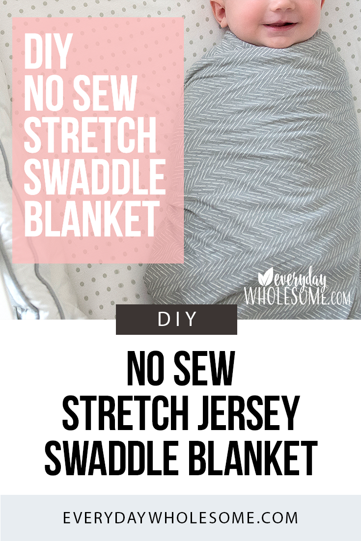 Stretchy Swaddle Blanket How To Make Diy Baby No Sew Swaddle Blanket Diy Swaddle Blanket Diy Baby Stuff
