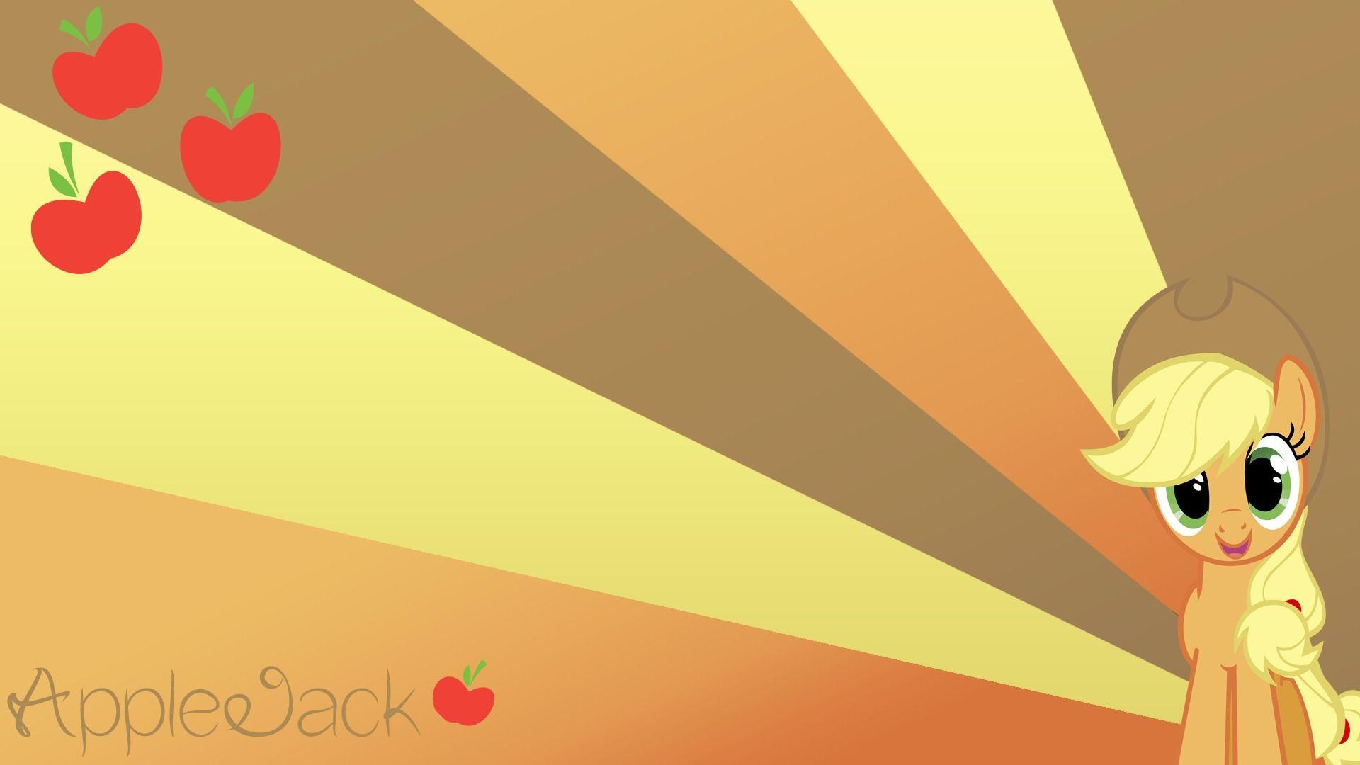 Applejack Applejack Wallpaper 1920x1080 My Little Pony Friendship My Little Pony Wallpaper