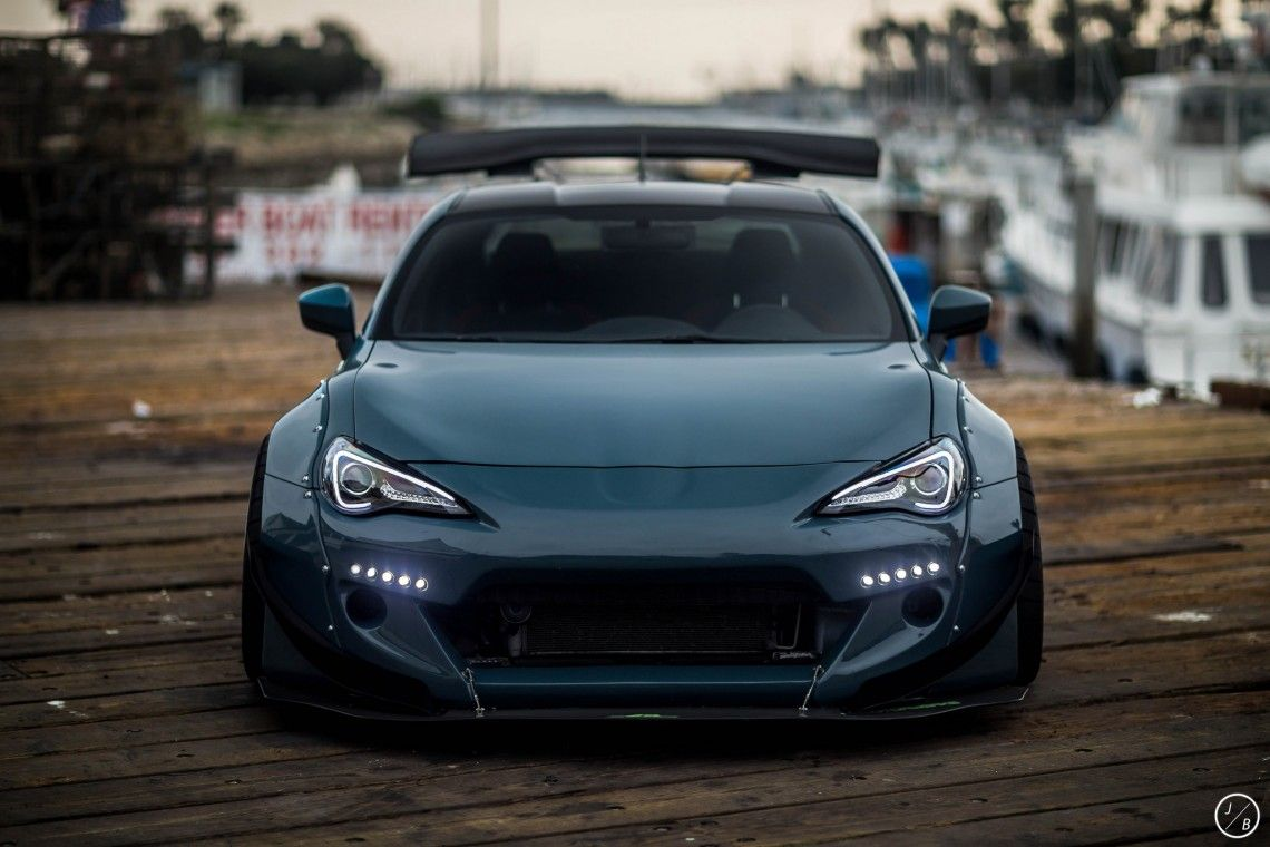 Subaru Brz Toyota Fr S Slammed Stance Car Wallpapers