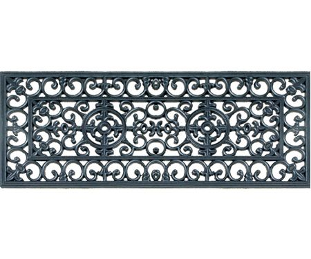 Incroyable Lace Long Rubber Door Mat