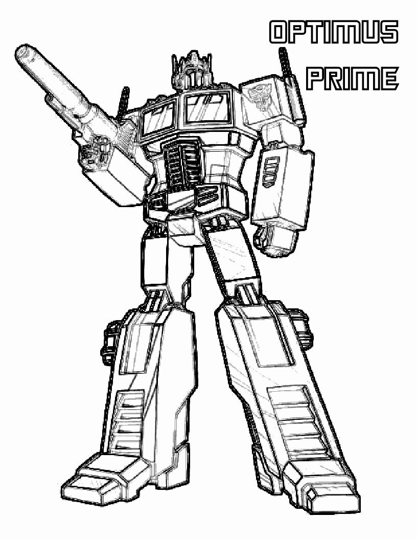 Optimus Prime Coloring Page Lovely Transformers Coloring Pages Optimus Prime Coloring Pages In 2020 Transformers Coloring Pages Coloring Pages Printable Coloring Pages