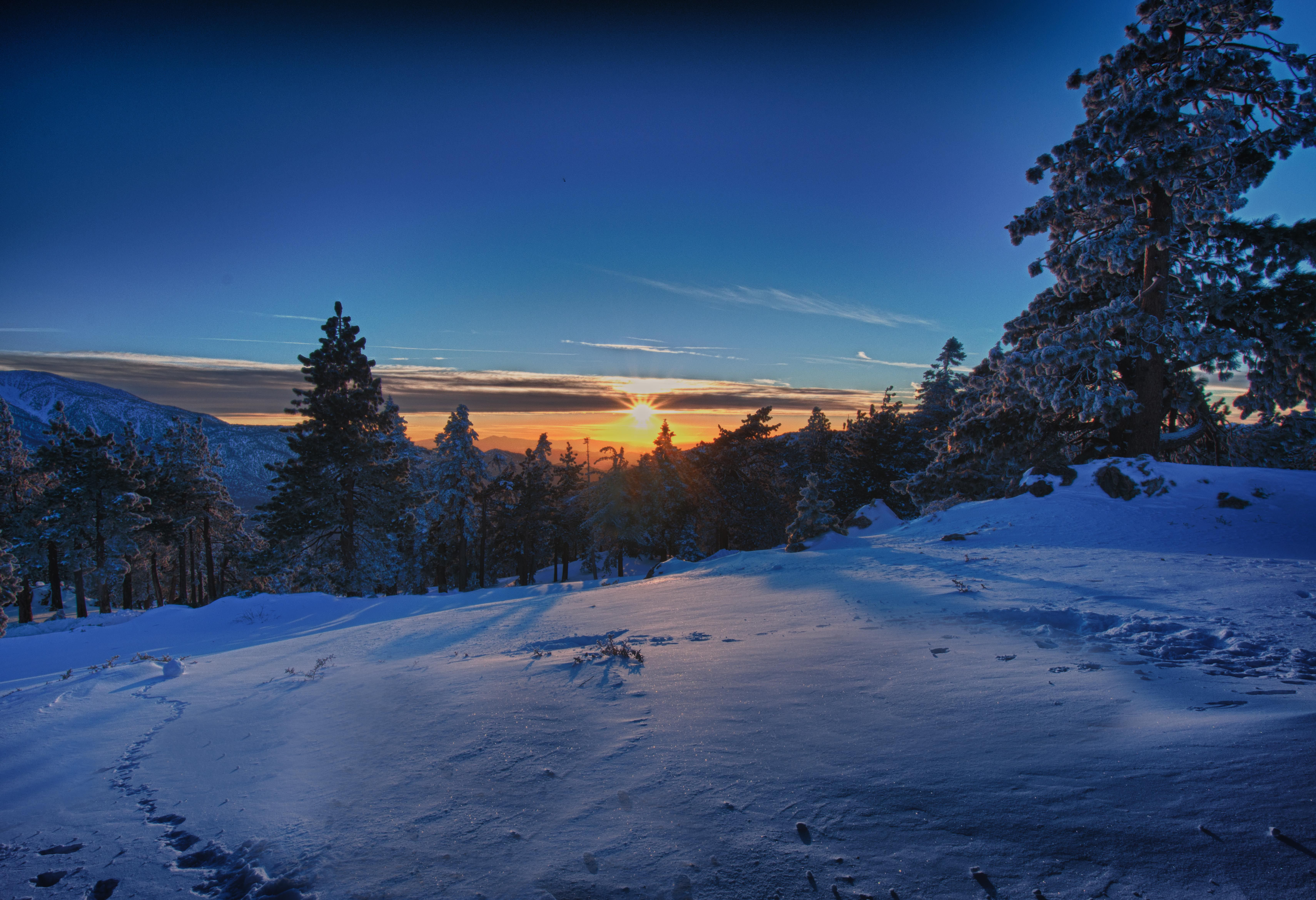 big bear has the most beautiful winter sunsets travel. Black Bedroom Furniture Sets. Home Design Ideas