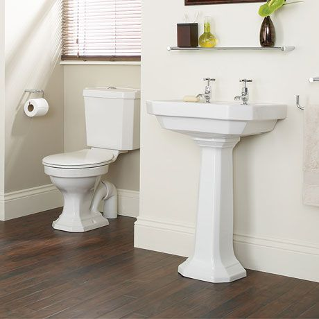 Heritage Granley Deco 4 Piece Traditional Suite Victorian Plumbing Traditional Bathroom Suites Simple Bathroom Designs Traditional Bathroom