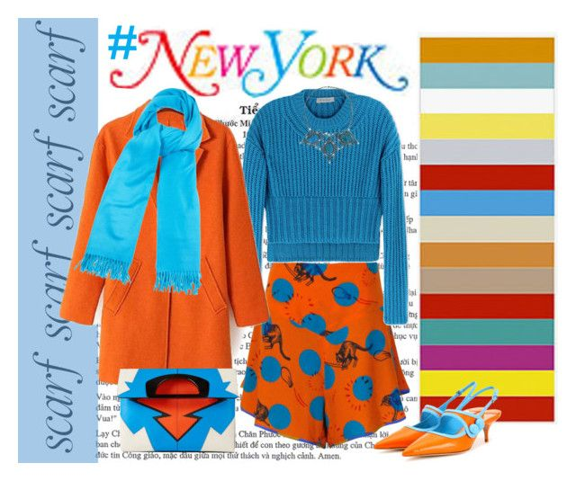 Colorful New York by staciplus3 on Polyvore featuring polyvore, fashion, style, Sportmax, Supersweet, Miu Miu, Christian Louboutin, Dudine, A.P.C. and clothing