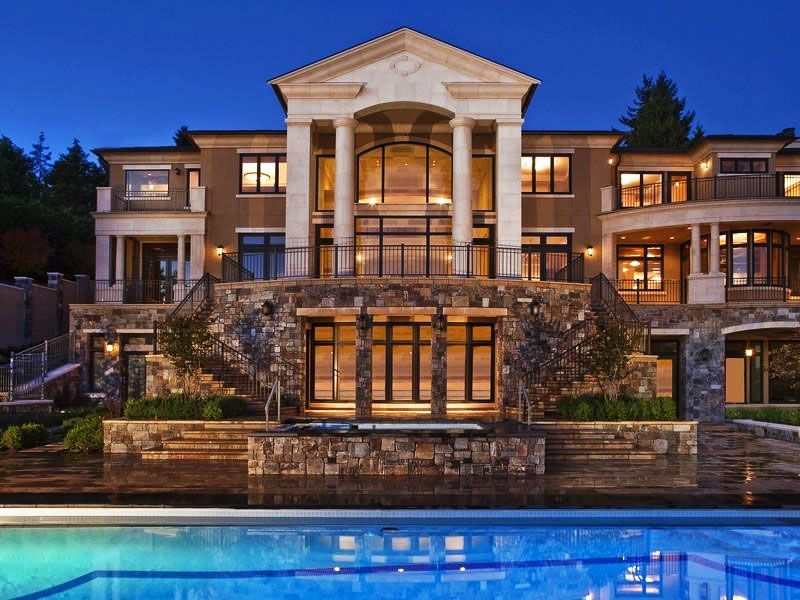 Mansion luxury home large house tricked out incredible for Pictures of nice mansions