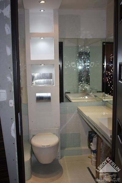mała łazienka w bloku w trakcie metamorfozy 1  mieszkanie - łazienka  Pinterest