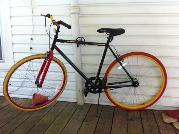 8096902a1ba Thruster 700c Men's Fixie Bike | Fixies..... :p | Fixie, How to ...