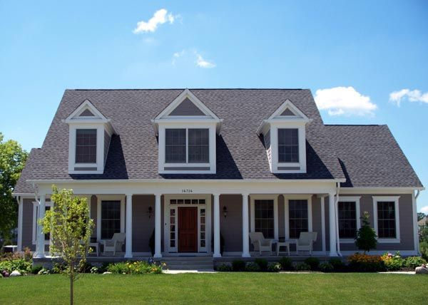 Cape Cod Style House Plan 56625 With 4 Bed 5 Bath 3 Car Garage Cape Cod House Plans Cape Cod Style House Cape Cod House