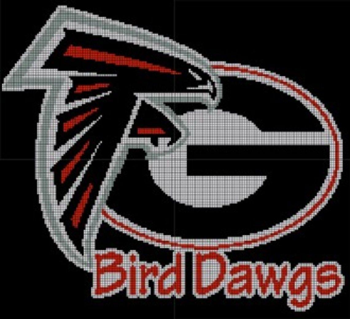 Georgia Bulldogs Atlanta Falcons Crochet Pattern Afghan