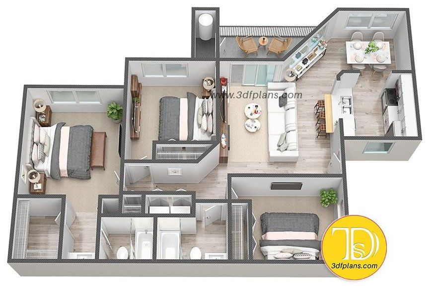 simple house design 3 bedroom