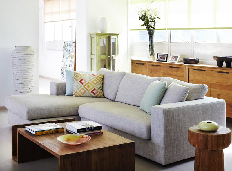 Contemporary Teak Living Room Furniture