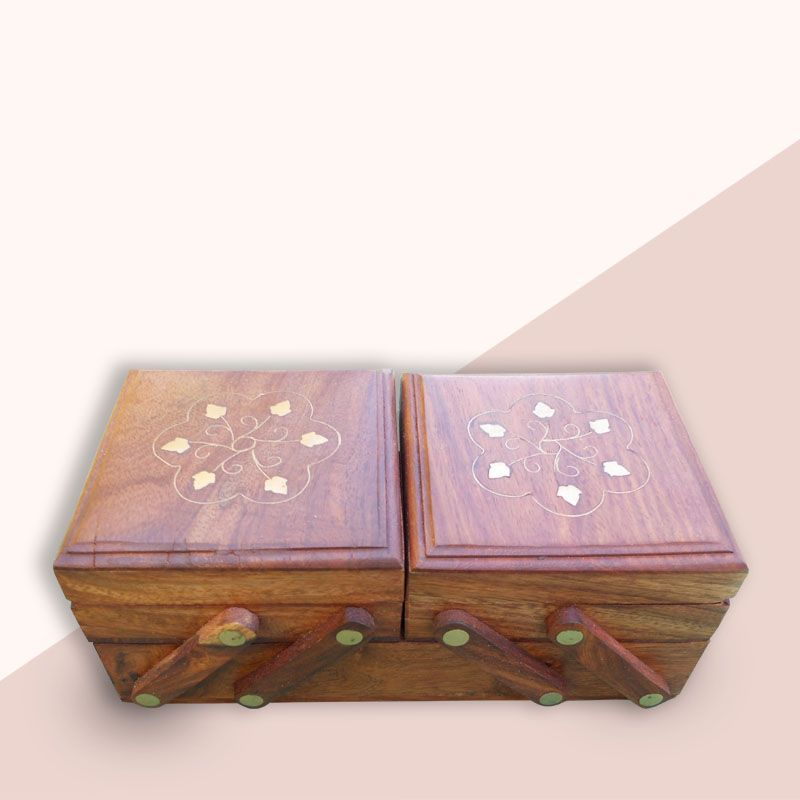 Where To Buy Decorative Boxes Magnificent Wooden Designer Jewellery Box Handmade Indian Wooden Art Design Inspiration
