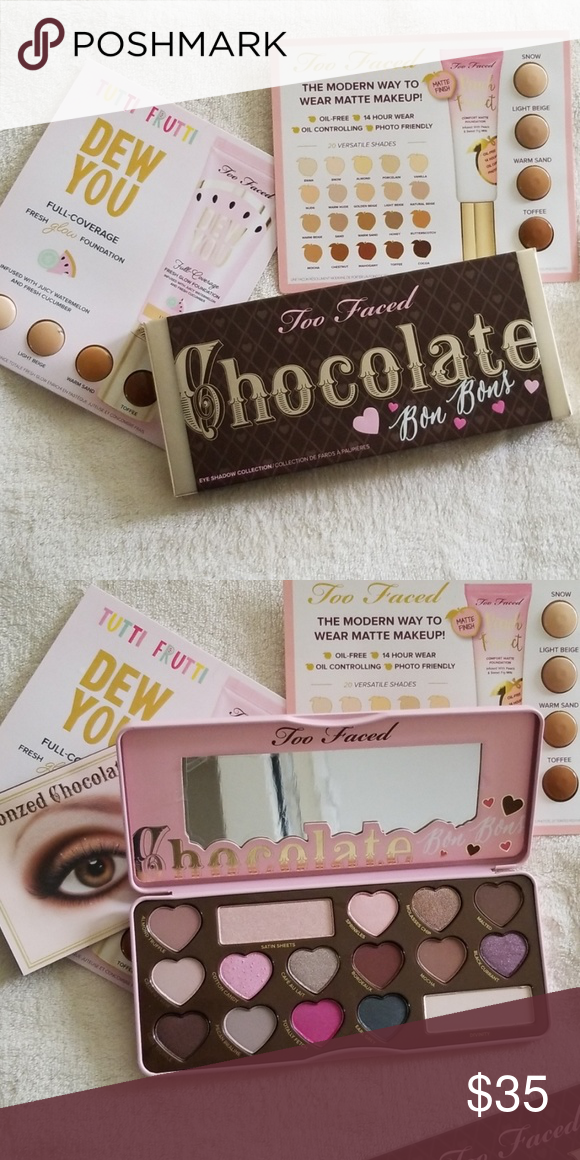 Bnib Too Faced Palette Brand New Never Used Or Swatched