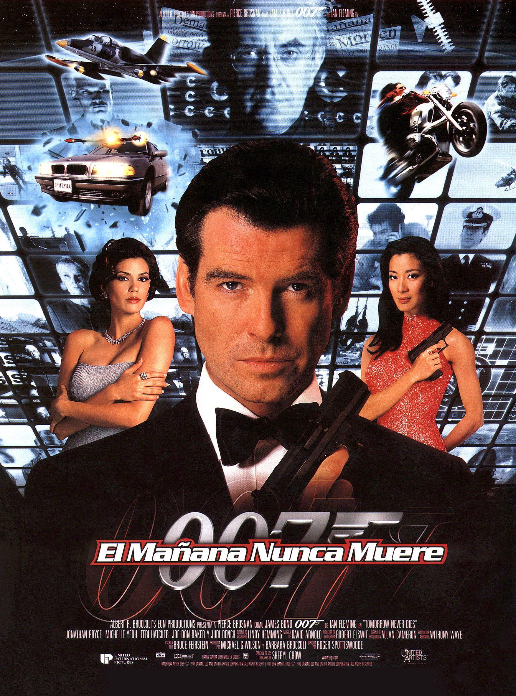 El Mañana Nunca Muere Peliculas De James Bond Peliculas Cine Peliculas