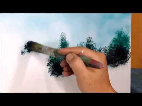Yagli Boya Resimde Bulut Nasil Yapilir Bulut Resmi Cizimi